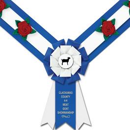 Easton Fair, Festival & 4-H  Award Sash w/ Roses