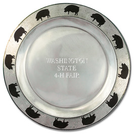 Hog Rim Pewtarex™  Award Plate