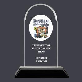 Arch Acrylic Fair, Festival & 4-H Award Trophy