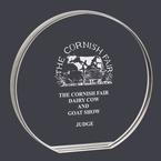 Round Fair, Festival & 4-H Acrylic Award Trophy