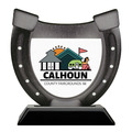 Birchwood Horseshoe Fair, Festival & 4-H Trophy w/ Black Base
