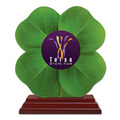 Birchwood Clover Fair, Festival & 4-H Trophy w/ Rosewood Base