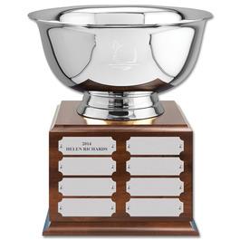Revere Bowl Fair, Festival & 4-H Award Trophy w/ Perpetual Base