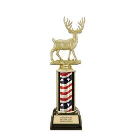 "10"" Black HS Base Fair, Festival & 4-H Award Trophy"