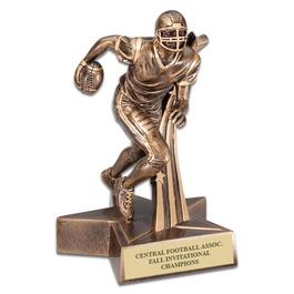 Football Superstar Resin Trophy