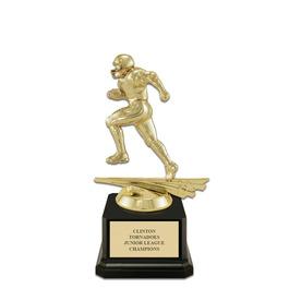 Football Award Trophy w/ Square Base