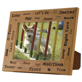 Dog Agility Picture Frame