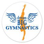 Round Gymnastics, Cheer & Dance Window Decal