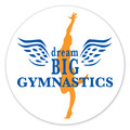Round Gymnastics, Cheer & Dance Window Decal