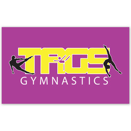 Rectangular Gymnastics, Cheer & Dance Window Decal