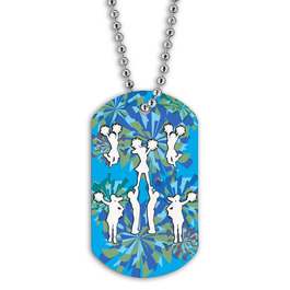Full Color Cheering Dog Tag