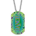 Full Color Dance Dog Tag