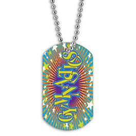Full Color Gymnastics Dog Tag