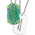 Personalized Dance Dog Tag w/ Print on Back