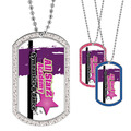 Custom Gymnastics, Cheer & Dance GEM Dog Tags