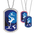 Full Color GEM Dancers Dog Tag