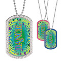 Full Color GEM Dance Dog Tag