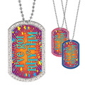 Full Color GEM Rhythm Dog Tag