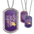 Full Color GEM Star Performer Dog Tag
