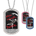 Full Color GEM When In Doubt Dance Dog Tag