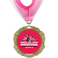 XBX Gymnastics, Cheer & Dance Award Medal w/ Millennium Neck Ribbon
