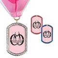 GEM Tag Gymnastics, Cheer & Dance Award Medal w/ Millennium Neck Ribbon