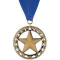 Rising Star Gymnastics, Cheer & Dance Award Medal with Grosgrain Neck Ribbon
