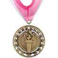 Rising Star Gymnastics, Cheer & Dance Award Medal with Millennium Neck Ribbon