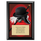 Tap Award Plaque - Black