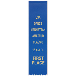 Hemmed Top Award Ribbon
