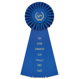 Newport Gymnastics, Cheer & Dance Rosette Award Ribbon