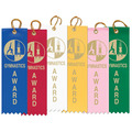 "1-5/8"" x 5-1/2"" Gymnastics Award Ribbon"