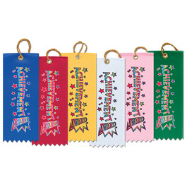 Achievement Gymnastics, Cheer & Dance Award Ribbon