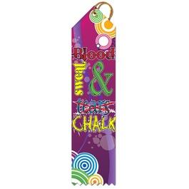 Sweat & Chalk Gymnastics Award Ribbon