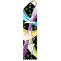 Stock Gymnastics Multicolor Point Top Award Ribbon
