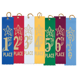 Star Gymnastics, Cheer & Dance Award Ribbon