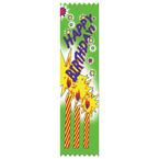 Stock Happy Birthday Ribbon