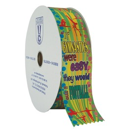 Gym Football Award Ribbon Roll