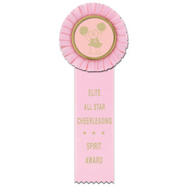 Little Rose Gymnastics, Cheer  & Dance Rosette Award Ribbon