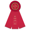 Mere Gymnastics, Cheer & Dance Rosette Award Ribbon