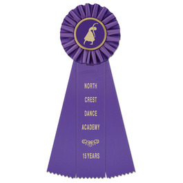 Ideal Gymnastics, Cheer  & Dance Rosette Award Ribbon
