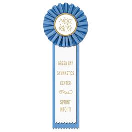 Master Gymnastics, Cheer  & Dance Rosette Award Ribbon