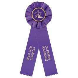 Empire 2 Gymnastics, Cheer & Dance Rosette Award Ribbon