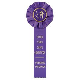 Empire 1 Gymnastics, Cheer  & Dance Rosette Award Ribbon