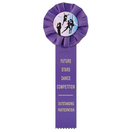Empire 1 Gymnastics, Cheer  & Dance Rosette Award Ribbon