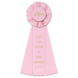 Empire Gymnastics, Cheer  & Dance Rosette Award Ribbon