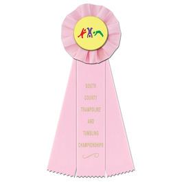 Empire Gymnastics, Cheer  & Dance Rosette Award Ribbon
