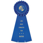 Luxury Gymnastics, Cheer  & Dance Rosette Award Ribbon