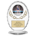 "6-3/8"" Free Standing Oval Gymnastics, Cheer & Dance Trophy"