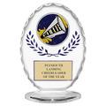 Free Standing Oval Gymnastics, Cheer & Dance Award Trophy